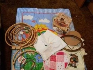 BABY BlANKET  EMBROIDERY HOOPS  MISCEllANOUS