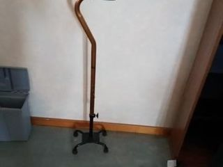 4 PRONG WAlKING CANE