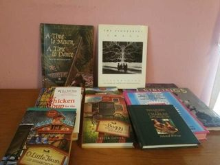 VARIETY OF HARDCOVER BOOKS