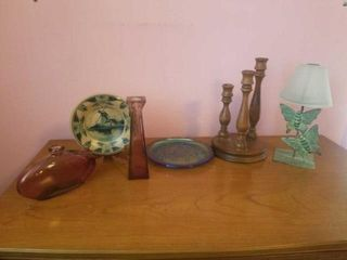 CANDlE HOlDERS  PlATES  DECORATIVE ITEMS
