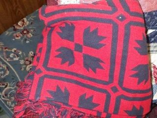 TWIN SIZE COMFORTOR  2   THROWS
