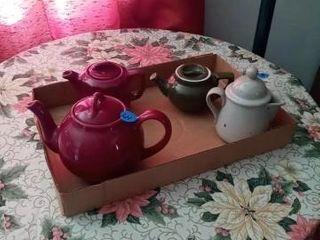 MISC CERAMIC TEA POTS