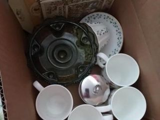MISC CUPS AND ITEMS SMAll BOX