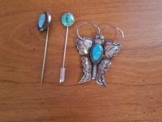 TURQUOISE PINS