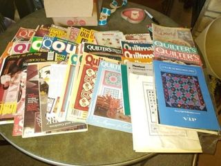MISCEllANOUS QUIlTING BOOKS