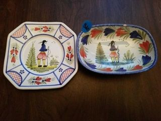 QUIMPER POTTERY FROM FRANCE