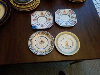 QUIMPER POTTERY PlATES FROM FRANCE