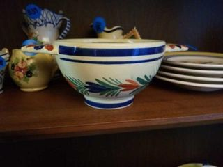 QUIMPER POTTERY FROM FRANCE BOWl