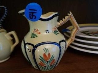 QUIMPER POTTERY FROM FRANCE SMAll PITCHER