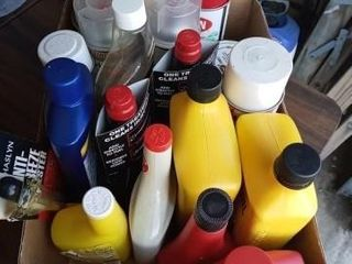 GARAGE ITEMS  OIl  SPRAY PAINT  FUEl INJECTION