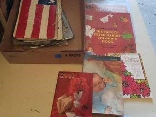lISCENSE PlATES  COlOR BOOKS AND GREETING BOOKS