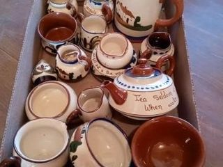 SEVERAl PIECES OF DARTMOUTH POTTERY MADE IN