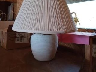 21 INCH TAll lAMP WITH SHADE