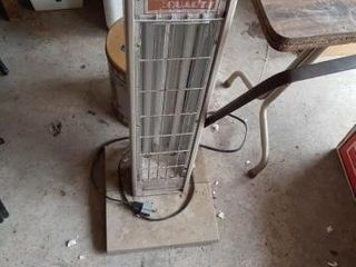 VERY OlD ElECTRIC SPACE HEATER AND YIN OF BIRD