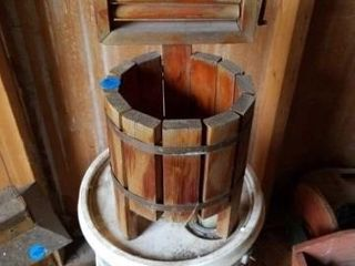 WOOD RINGER WASHER REPlICA