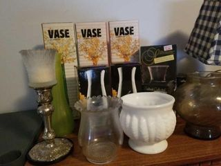 BOXED VASES  CANDlE HOlDER  MISCEllANOUS ITEMS