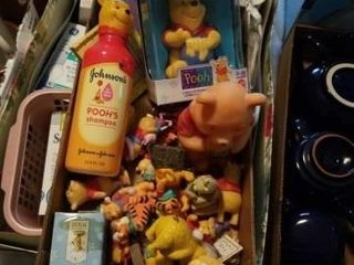 NUMEROUS  MISCEllANOUS POOH ITEMS