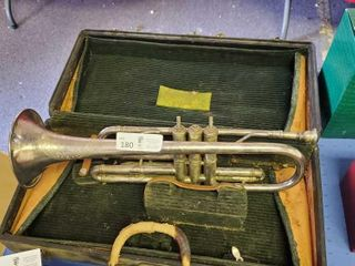 4-6 to 4-30) Online Antique & Collectible Auction (Part 2). Crystal, Trumpet, and more. Ends Fri 8p