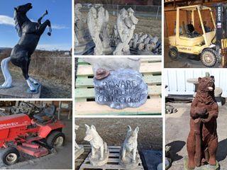 Concrete Statuary Inventory and Equipment Liquidation
