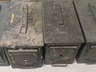 4 Ammo Cans