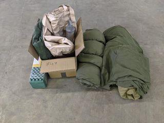 Sleeping Bags   Air Matress