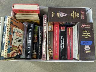 Box of Reloading Books