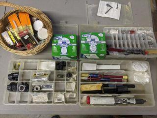 lOTS of Misc Gun Repair   Cleaning Items