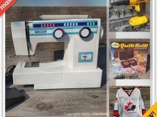 Ottawa Downsizing Online Auction - Dalmeny Rd