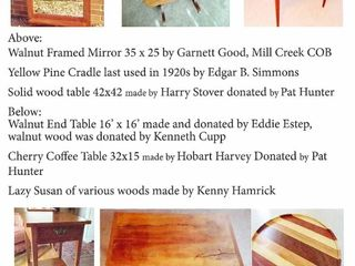 Friday & Saturday, May 21 & 22, 2021 - Benefit Disaster Ministries Public Auction