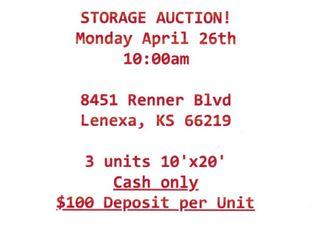 Live Storage Unit Auction