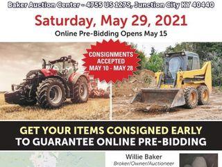 Memorial Weekend Surplus Equipment Auction