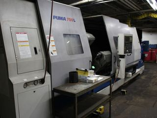 Large Capacity CNC Machine Shop