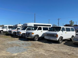 Online Auction of Step Vans, Buses, Trailers, and Construction Equipment