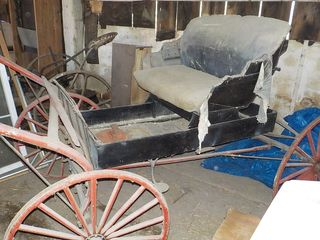 Online Auction buggy, sleigh, Forging items, primitives