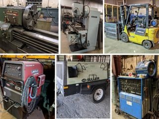 Welders Lathes Milling Machines Forklifts Band Saws And More