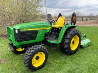 2004 John Deere 4510 Diesel Tractor w/ 149.6 Hours - Part of a larger auction