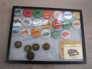 VINTAGE TOKEN BUTTONS
