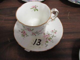 Oakley China Cup & Saucer