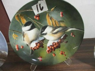 The Chickadee Collection Plate