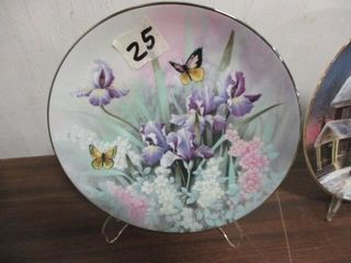 Topaz Beauties Collection Plate