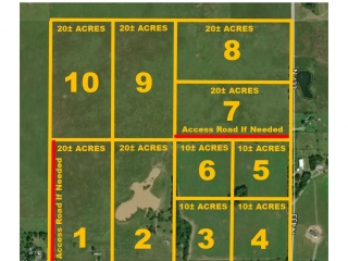 LIVE AUCTION Pryor, OK 160 Acres Offered In Parcels!