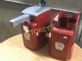 2 Heinz Ketchup Dispensers