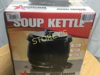 NEW Omcan Soup Kettle