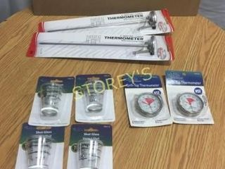 Asst Ther10194eters   Shot Glasses   New