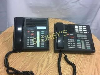 2 Norstar Telephones