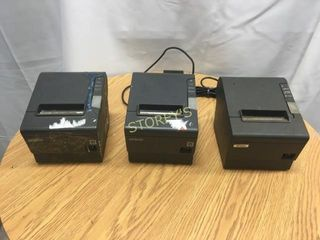 3 Epson Printers