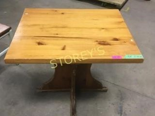 Pine Dining Table   36 x 30