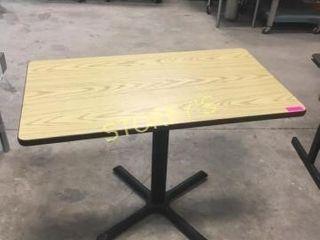 Oak Dining Table   42 x 24 x 30