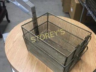2 lG Fry Baskets   9 5 x 13 5