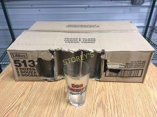 24 Don Cherry Beer Glasses